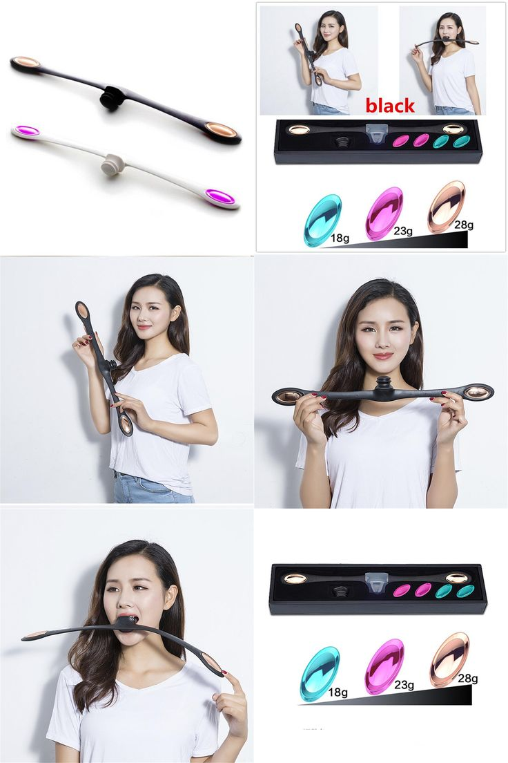 [Visit to Buy] Facial Fitness Massage Tool Face Muscles Training Wand Anti Wrinkles Massager Smile Exercise Tool #Advertisement