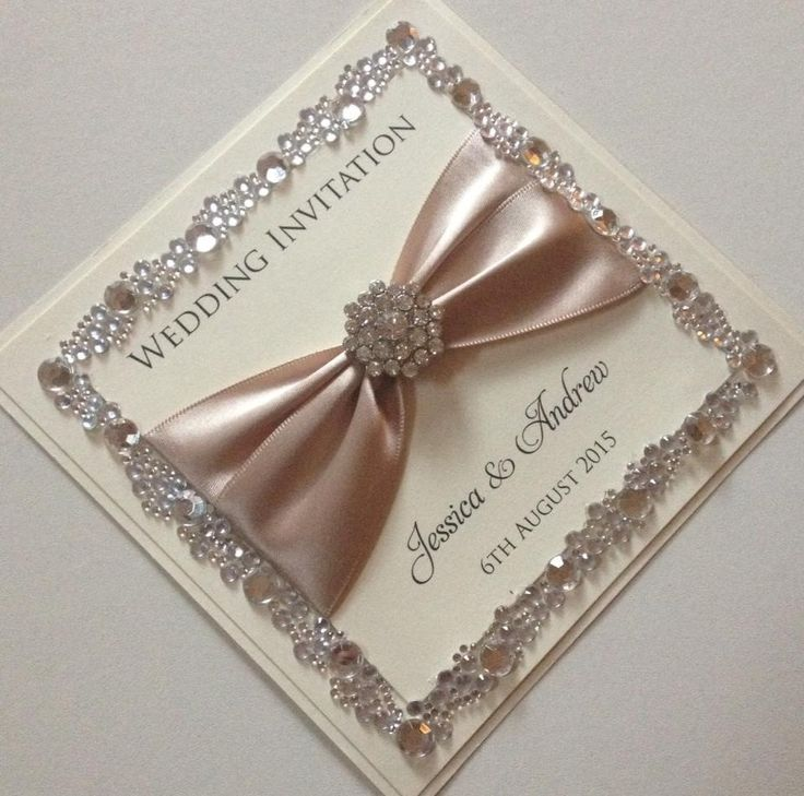 Elegant Wedding Invitations With Crystals: 25+ Best Ideas About Bling Invitations On Pinterest