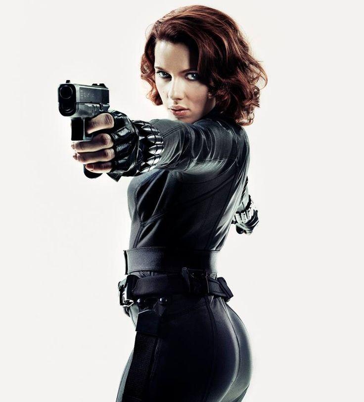Did my own Black Widow cosplay shoot July 2013