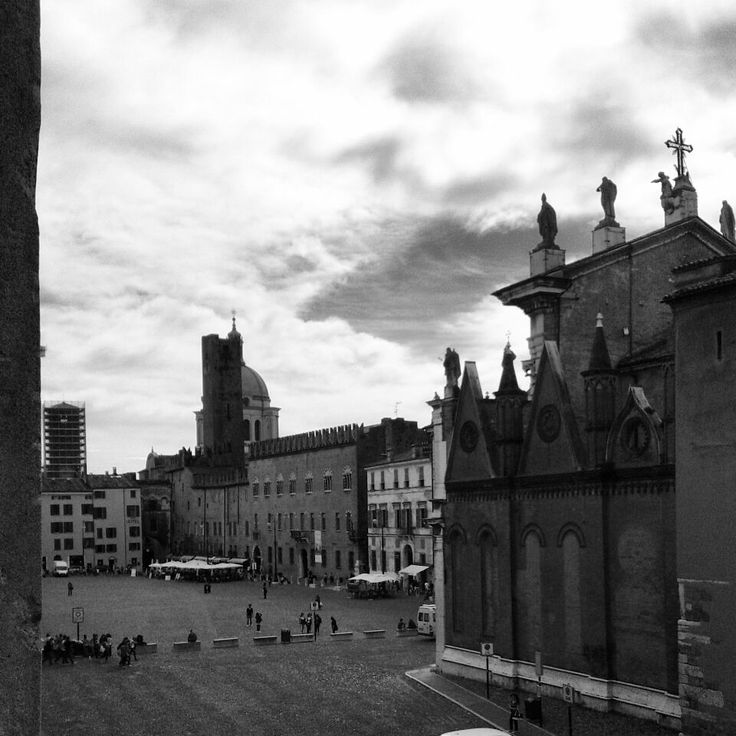 #Beautiful #view of #Mantova, piazza Sordello