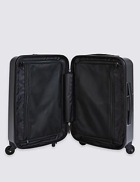Cabin 4 Wheel Hard Suitcase with Security Zip