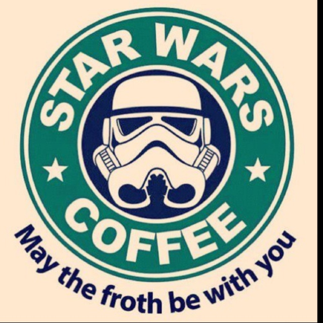 Love Star Wars! And I love coffee.