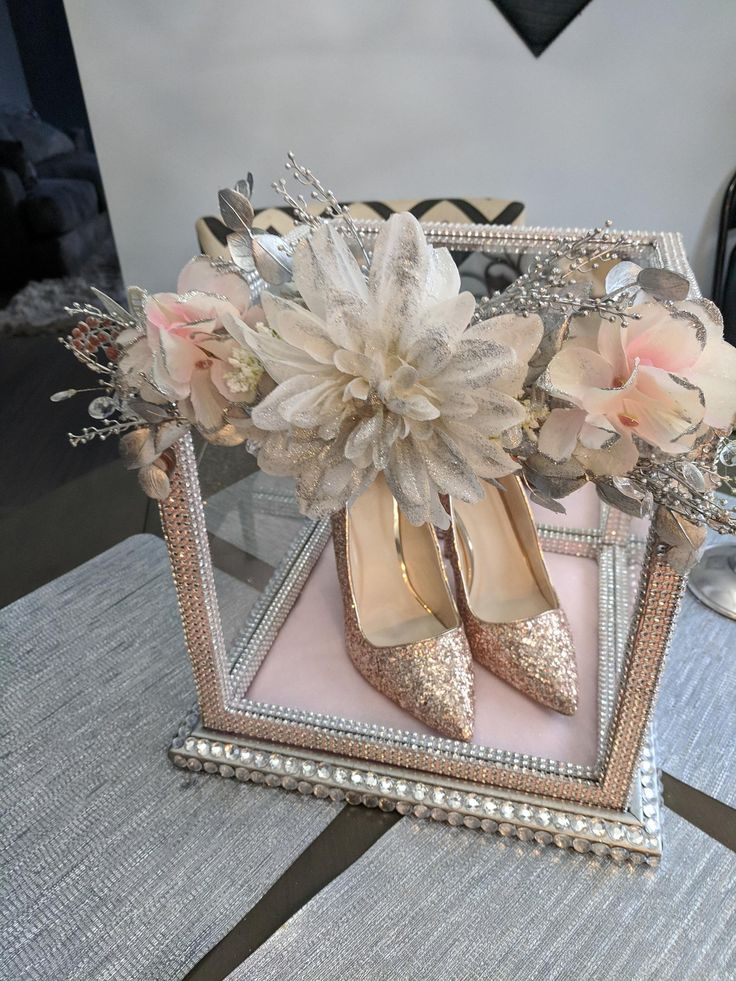 Sweet 16 Cinderella Shoe Box in 2020 Cinderella sweet 16