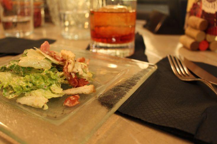#Breezecafe#cocktails#Negroni#drinks#Caesar'ssalad#taste photo by asprimera