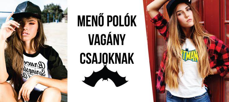 A csajokra is gondolunk! Menő pólók, vagány csajoknak! www.fatbatrockshop.hu