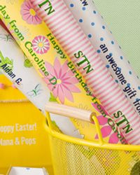Personalized Gift Wrap- Easter