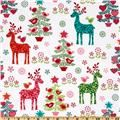 Michael Miller Nordic Holiday Nordic Holiday Multi For Cora's stocking?