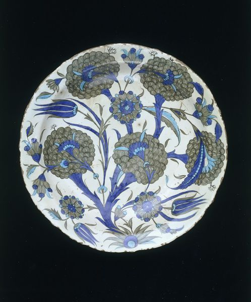 Dish      Place of origin:      Iznik, Turkey (made)     Date:      ca. 1545 (made)     Artist/Maker:      Unknown (production)  ...