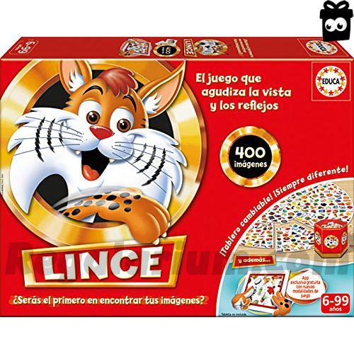 Lince – Juego de mesa, edición familia con app (Educa Borrás 16146)