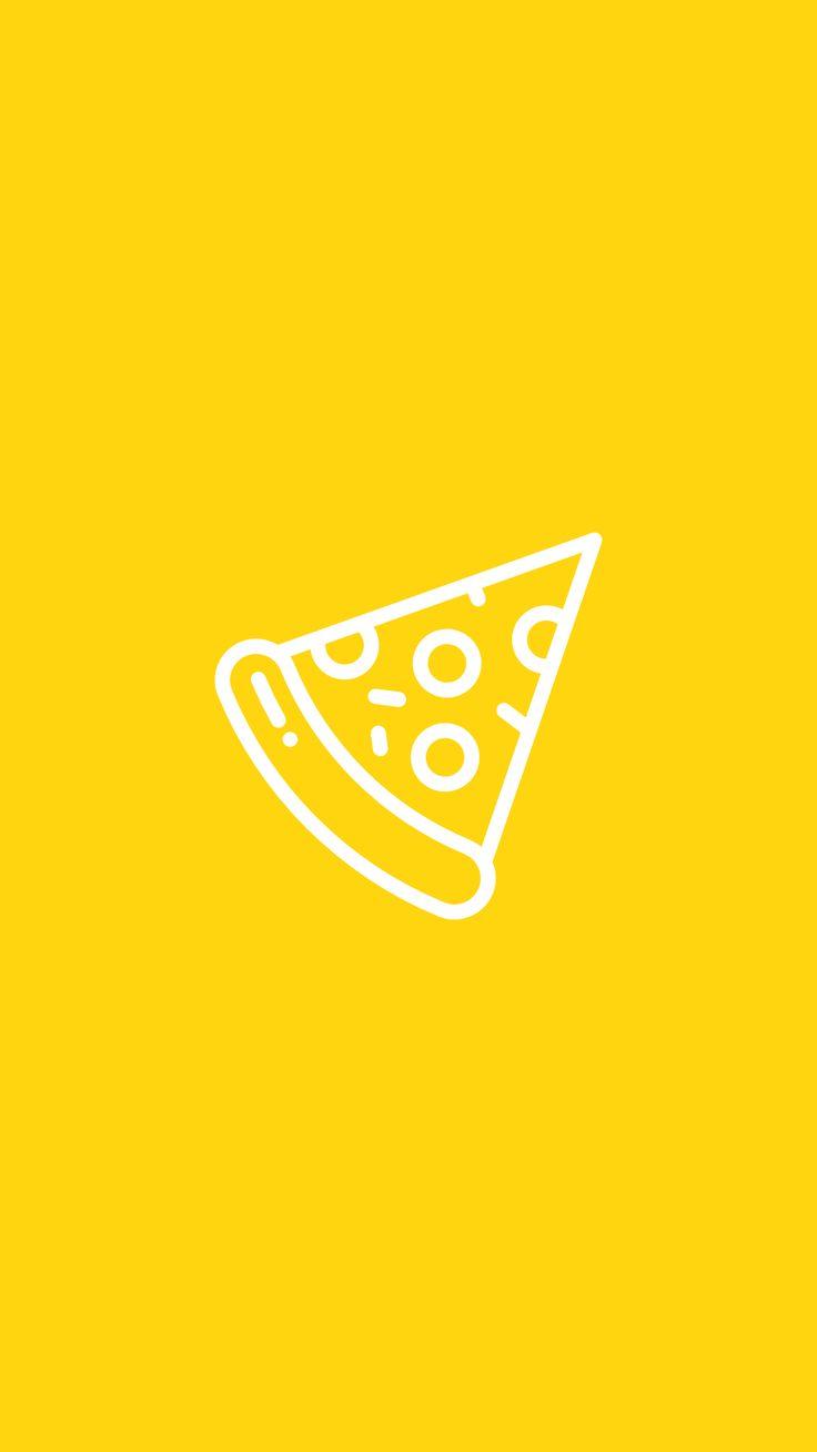 Yellow Instagram Highlight Icons | Instagram highlight ...