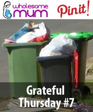Grateful Thursday #7 | Little Luxuries Like Waste Management – Wholesome Mum