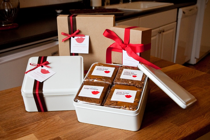 We personally hand wrap our treats and place them in our genuine gift tins and boxes.