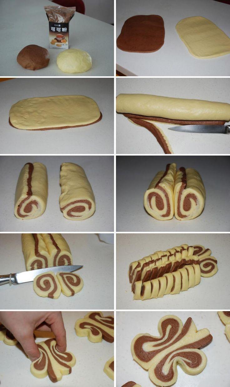 Recette de biscuits papillons! - Cuisine - Trucs et Bricolages                                                                                                                                                      Plus