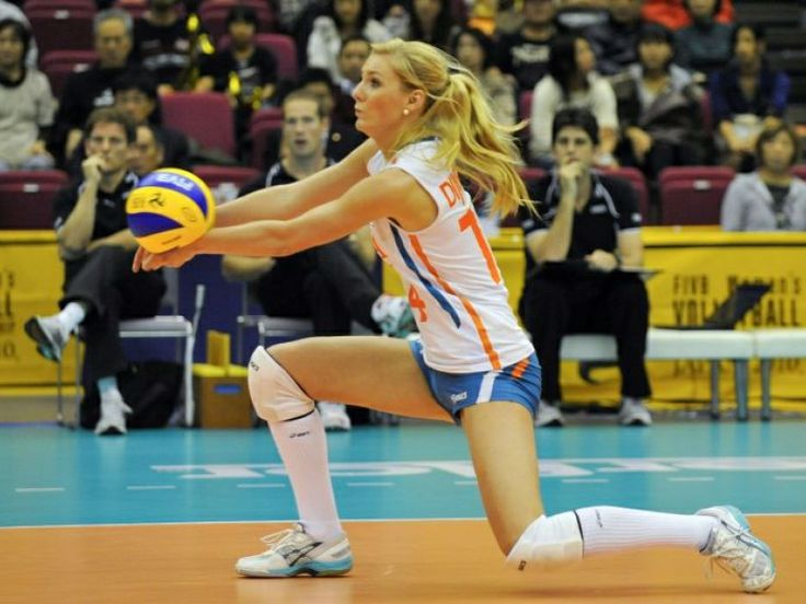 Laura Dijkema, volleyball player, setter, Netherlands Team and Halkbank Ankara (Turkey)