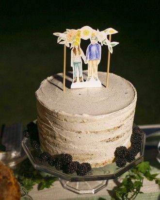 Mini-Me - Lana and Danny's Homespun Colorado Wedding #cupcake #sweetstuff