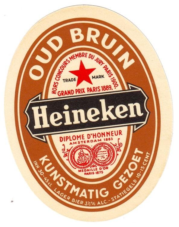 """""""Oud bruin""""; dit heb ik vroeger heel wat gedronken....lekker!"""