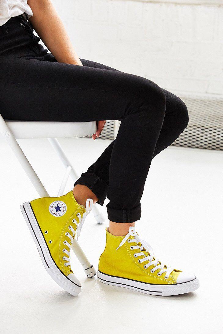 25 Best Ideas About Yellow Converse On Pinterest Light