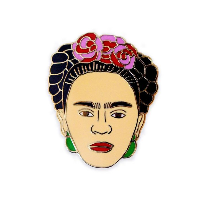 Frida Kahlo Lapel Pin