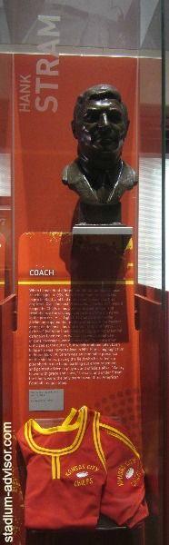 Hank Stram http://www.stadium-advisor.com/kansas-city-chiefs-schedule.html