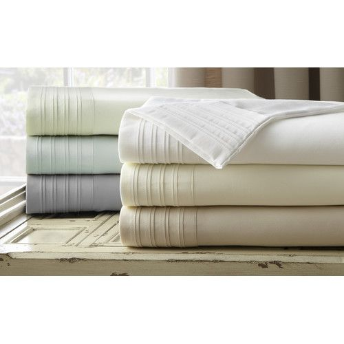 $60 black friday! Found it at Joss & Main - 4-Piece Pleated 1000 Thread Count Sheet Set