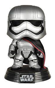 Pop! Star Wars: Captain Phasma: Funko Pop Star Wars: Amazon.co.uk: Toys & Games