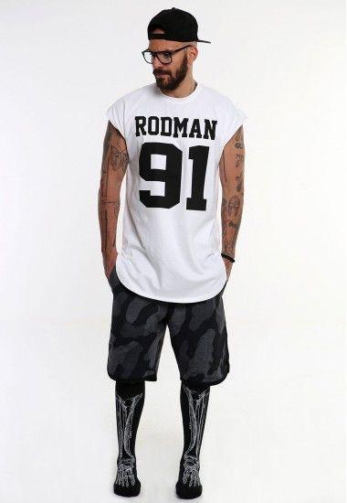 rodman 91  #vagrancylifestyle #handmade #top #man #sleeveless #tshirt
