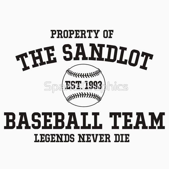 The Sandlot Baseball team