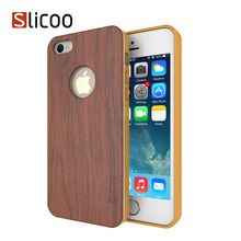 Slicoo Wood Protective Case Bamboo Case for iPhone 5 5s , Slicoo Nature Series…