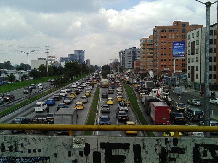 Puente Calle 100 con Autopista.