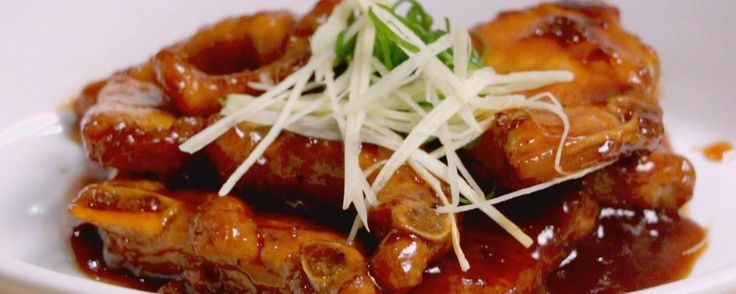 """Peking Pork Chops With Velvet Marinade Recipe 