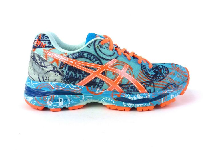 Asics women's Gel-Nimbus 18 running shoes sneakers trainers size 6 Blue NIB #ASICS #RunningCrossTraining