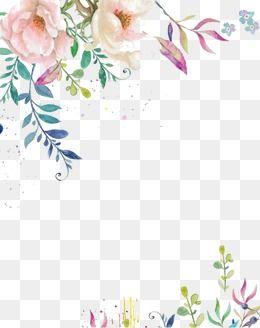 المياه-- لون زهرة الحبر