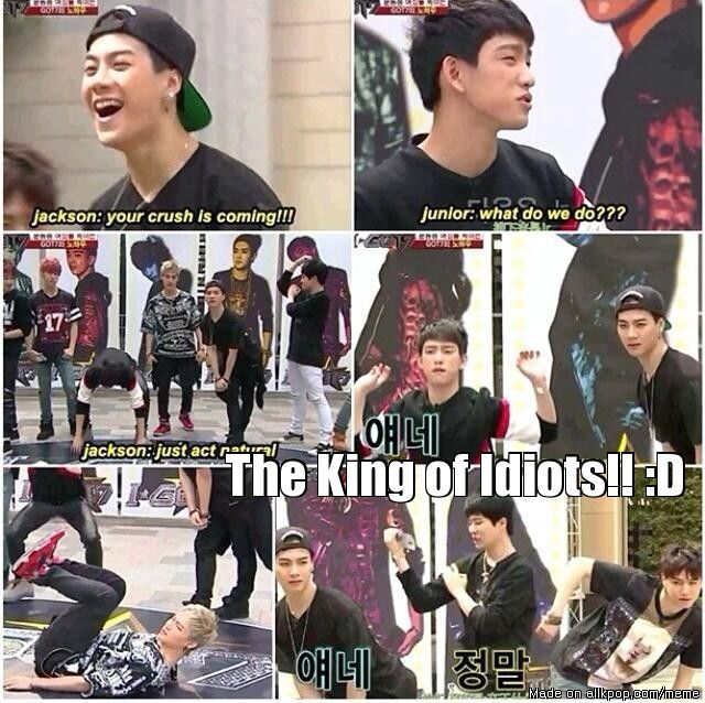 The King Of Idiots xD The winner !!! xD