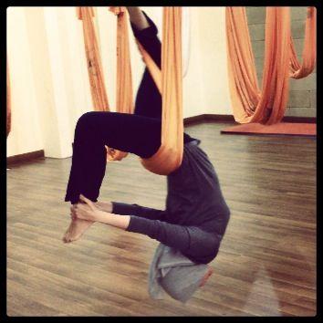 #antigravity #yoga #hammock #jakarta