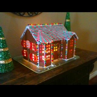 Candy House Cake