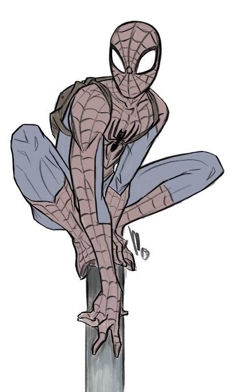 Spider-Man by Mel Milton *