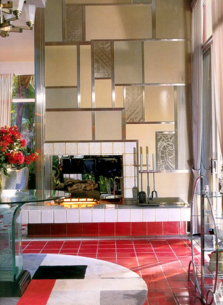 17 Best Images About Art Deco Interiors On Pinterest