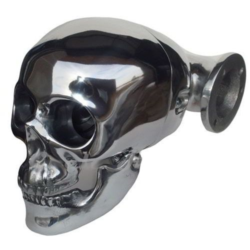 Army Motorcycle Custom Air Cleaners : Skull air cleaner polished harley davidson and custom