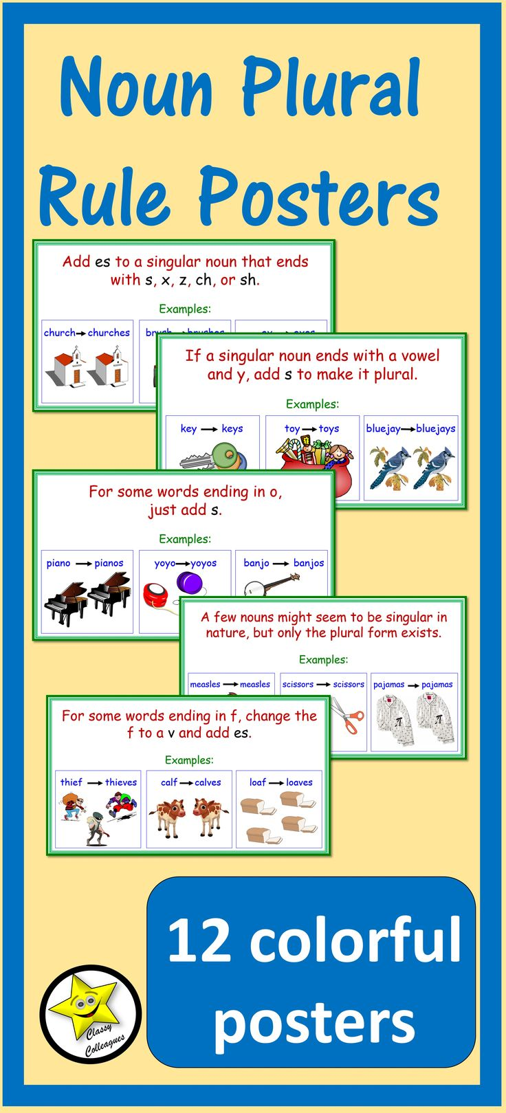 Best 25+ Examples of plural nouns ideas on Pinterest | Plural ...
