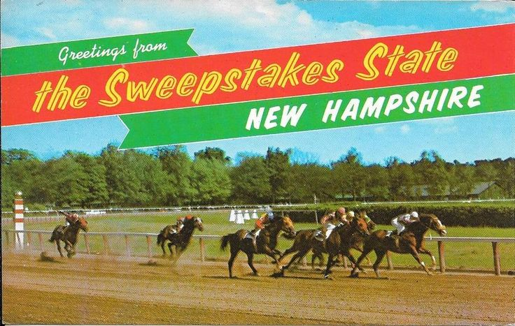 NH-SALEM-ROCKINGHAM PARK-HORSE RACE-SWEEPSTAKES STATE-K-15972