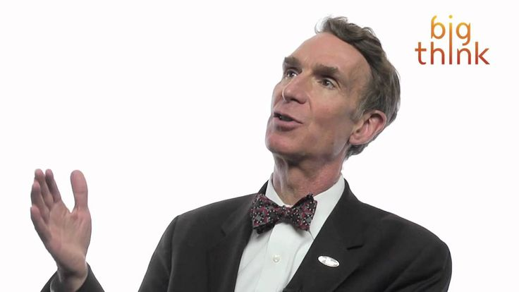 """Bill Nye """"The Science Guy"""" speculates on why people embrace religious superstitions like creationism, noting that the fear of death """"makes all of us a little nutty."""""""