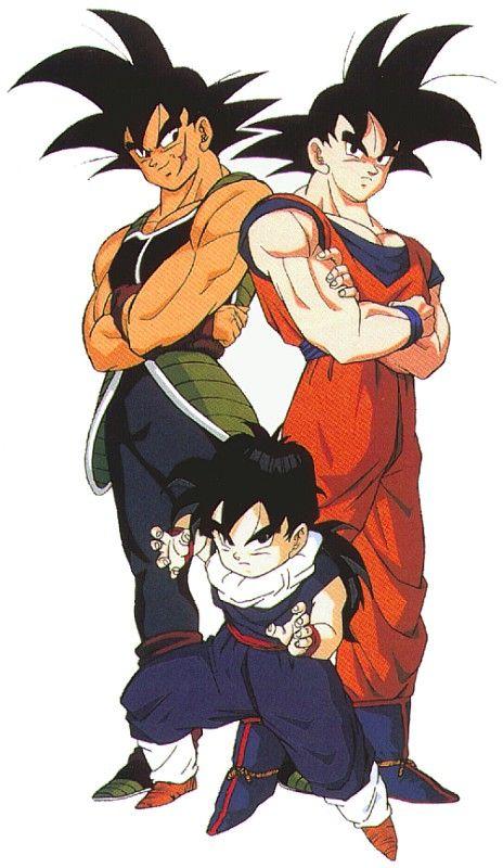 Bardock, Goku, Gohan