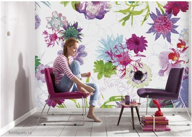 La Petite Anne: Flower power - jarní inspirace/vyhánění zimy