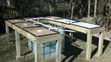 Aquaponics DIY KIT!!! 7 growbeds up and running in less than 4 hrs