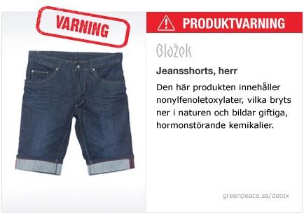 Jeansshort, herr