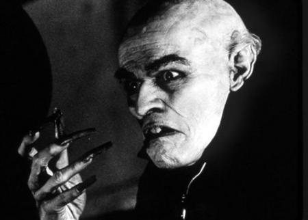 "Willem Dafoe as Nosferatu in ""Shadow of the Vampire"""