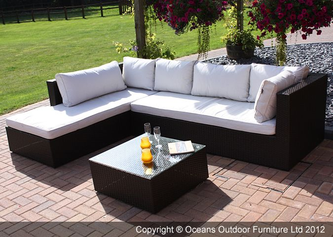 Marvelous An all time favourite the Puerto Rico garden furniture sofa is versatile yet pact the