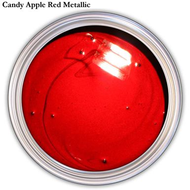 94348ea35e8b Red Metallic Car Paint    This is an amazingly glossy Candy Apple Red.