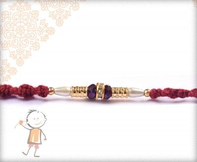 Mauli #Rakhi Collection 2016 – Send  #Rakhi to #India, #USA, #UK, #Canada, #Australia, #Dubai #NZ #Singapore. Delicate Mauli Rakhi, surprise your loved ones with roli chawal, chocolates and a greeting card as it is also a part of our package and that too without any extra charges.  http://www.bablarakhi.com/send-fancy-rakhi-online/926-send-delicate-mauli-rakhi-online.html