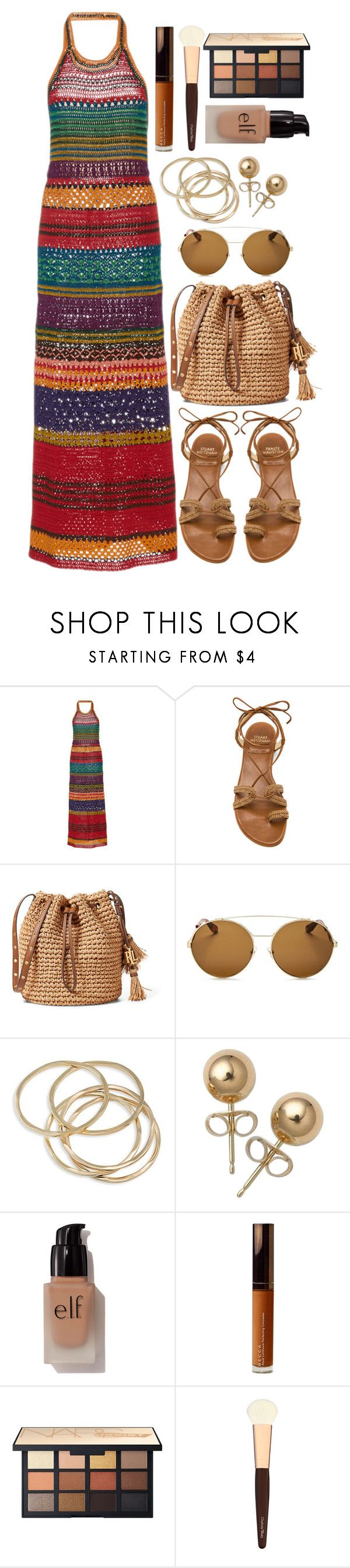 """""""Untitled #4595"""" by natalyasidunova ❤ liked on Polyvore featuring Spencer Vladimir, Stuart Weitzman, Givenchy, ABS by Allen Schwartz, Bling Jewelry, e.l.f., Becca, NARS Cosmetics and Charlotte Tilbury"""